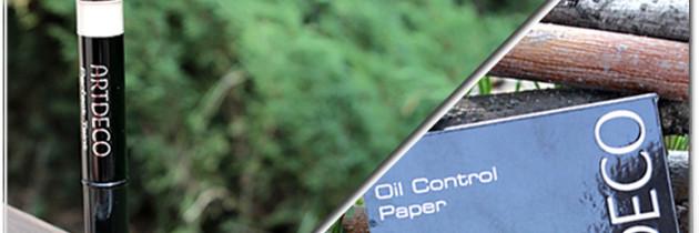 ArtDeco Perfect Teint Illuminator #8 & матуючі серветки Control Paper