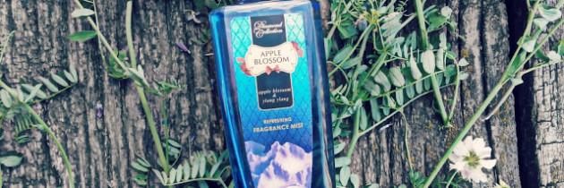 Освіжаючий парфумований спрей для тіла Diamond Collection Apple Blossom Refreshing Fragrance Mist