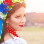 Яскравий макіяж  до святкування Дня Незалежності
