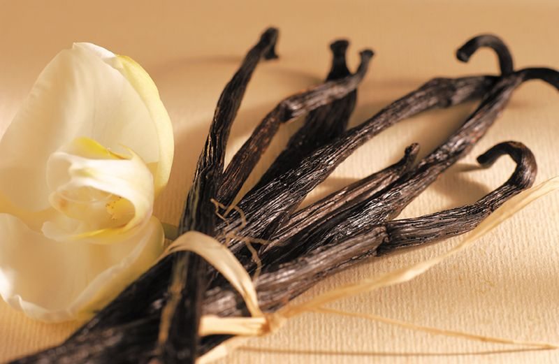 ваніль з квітами