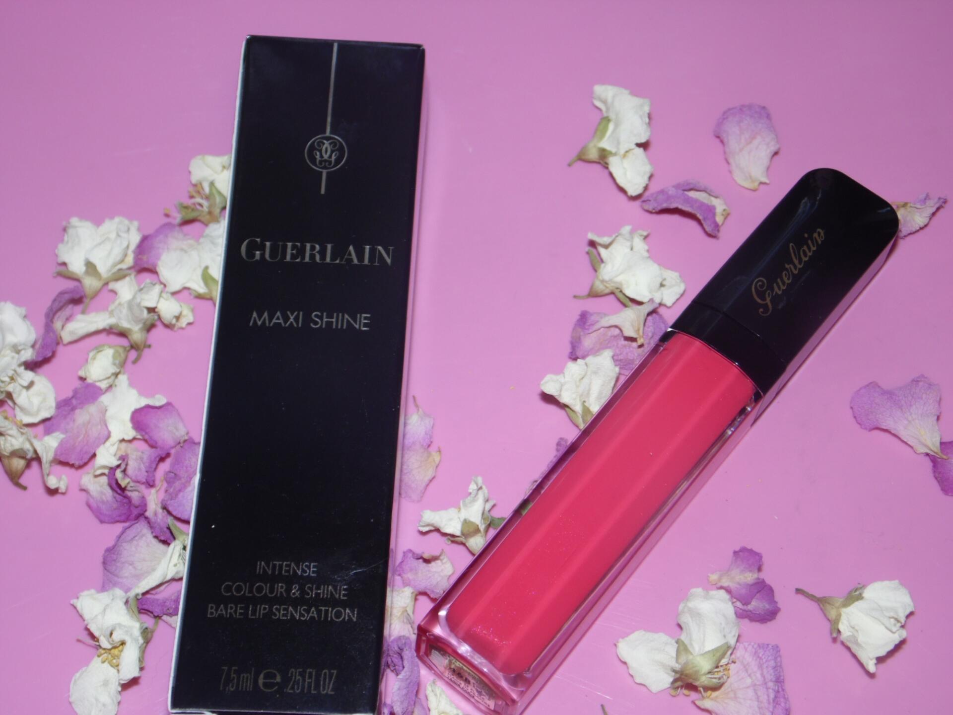 Блиск для губ Guerlain Maxi Shine Lip Gloss #468 Fuchsia Ding