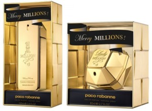 Paco Rabanne 1 Million Merry Millions & Lady Million Merry Millions