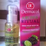 Огляд на антистресову олію Dermacol Aroma Ritual Body Oil Grape&Lime