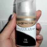 Огляд на тональний крем Max Factor Colour Adapt