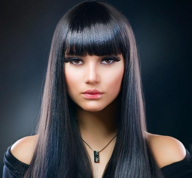 чорне волосся